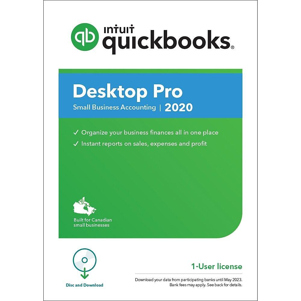 Intuit Desktop Pro 2020