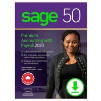 Sage 50 Premium with Payroll 2020 Retail Box