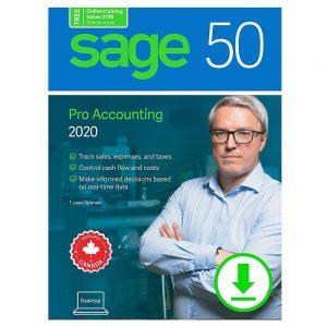 Sage 50 Pro 2020 Retail Box